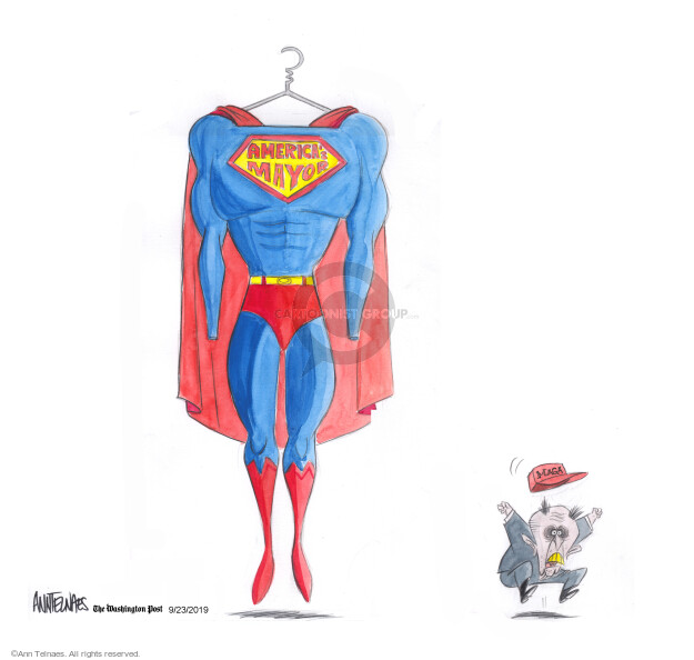Ann Telnaes  Ann Telnaes' Editorial Cartoons 2019-09-23 supporter