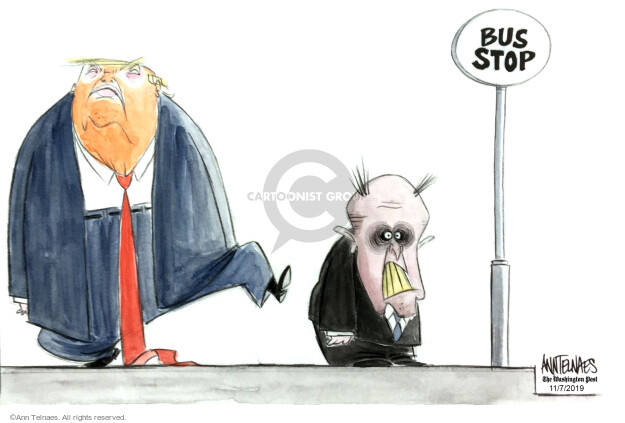 Ann Telnaes  Ann Telnaes' Editorial Cartoons 2019-11-07 presidential administration
