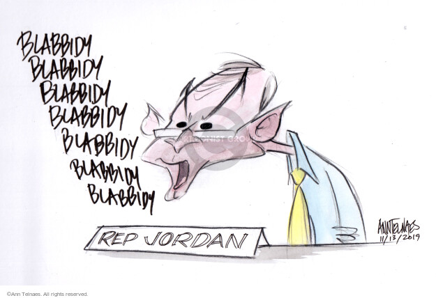 Cartoonist Ann Telnaes  Ann Telnaes' Editorial Cartoons 2019-11-13 2020 election