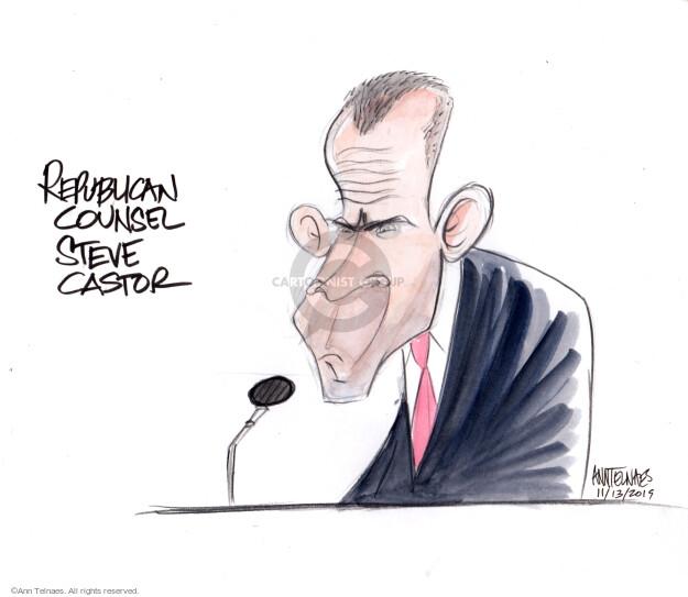Ann Telnaes  Ann Telnaes' Editorial Cartoons 2019-11-13 2020 election