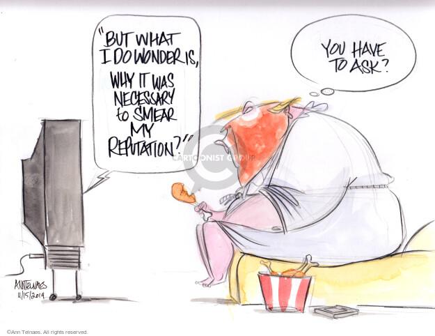 Ann Telnaes  Ann Telnaes' Editorial Cartoons 2019-11-15 but