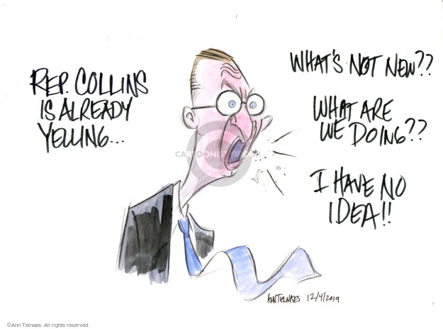 Ann Telnaes  Ann Telnaes' Editorial Cartoons 2019-12-04 election