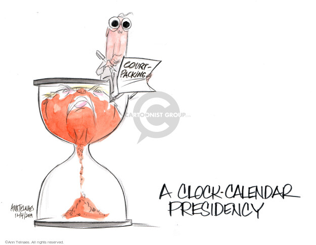 Cartoonist Ann Telnaes  Ann Telnaes' Editorial Cartoons 2019-12-04 congressional