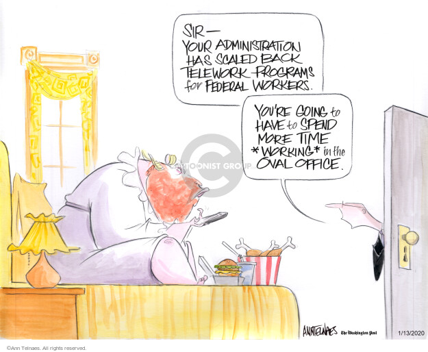 Ann Telnaes  Ann Telnaes' Editorial Cartoons 2020-01-13 house