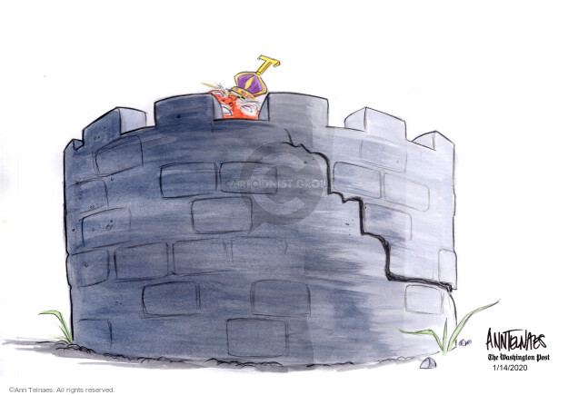 Ann Telnaes  Ann Telnaes' Editorial Cartoons 2020-01-14 defense