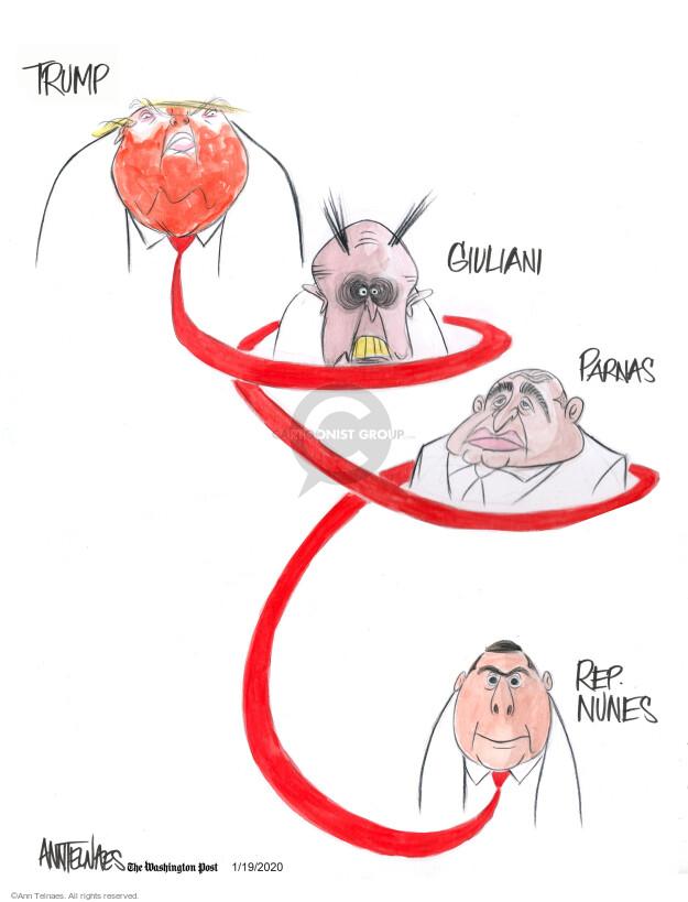 Ann Telnaes  Ann Telnaes' Editorial Cartoons 2020-01-19 GOP