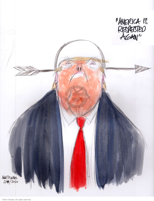 Cartoonist Ann Telnaes  Ann Telnaes' Editorial Cartoons 2020-02-05 address