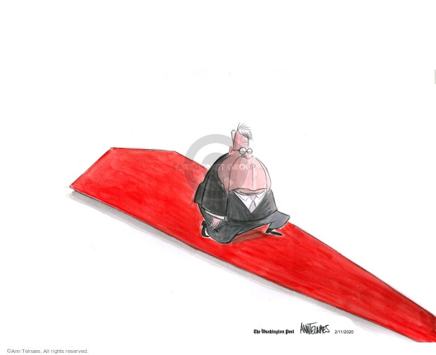 Cartoonist Ann Telnaes  Ann Telnaes' Editorial Cartoons 2020-02-11 sentencing