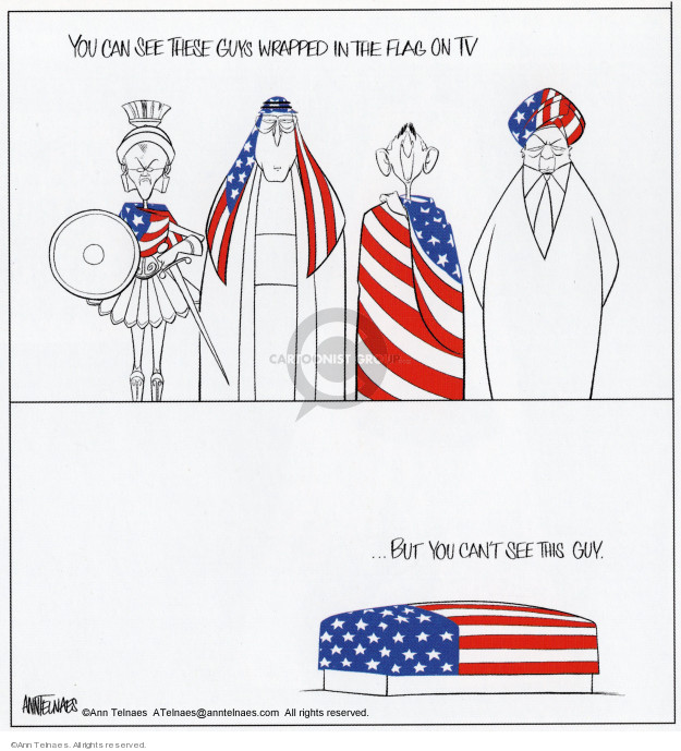 Cartoonist Ann Telnaes  Ann Telnaes' Editorial Cartoons 2003-10-23 vice president
