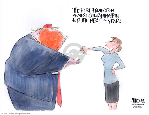Ann Telnaes  Ann Telnaes' Editorial Cartoons 2020-03-11 president