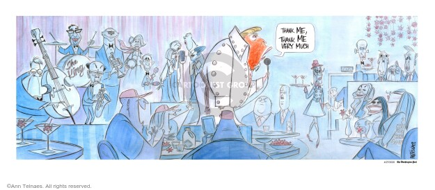 Ann Telnaes  Ann Telnaes' Editorial Cartoons 2020-04-30 Eric Trump