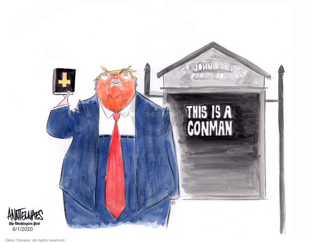 Ann Telnaes  Ann Telnaes' Editorial Cartoons 2020-06-01 George