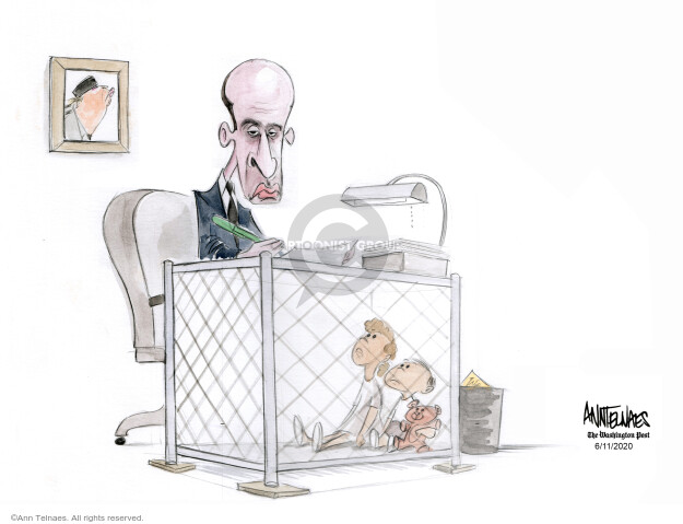 Ann Telnaes  Ann Telnaes' Editorial Cartoons 2020-06-11 Presidency