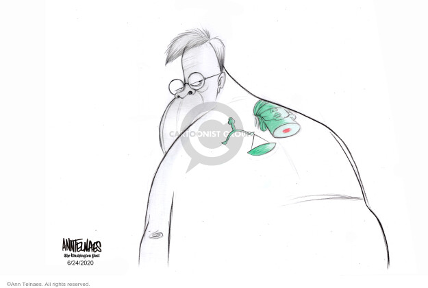 Ann Telnaes  Ann Telnaes' Editorial Cartoons 2020-06-24 lady