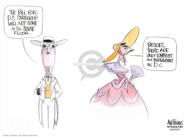 Ann Telnaes  Ann Telnaes' Editorial Cartoons 2020-06-29 senate majority leader