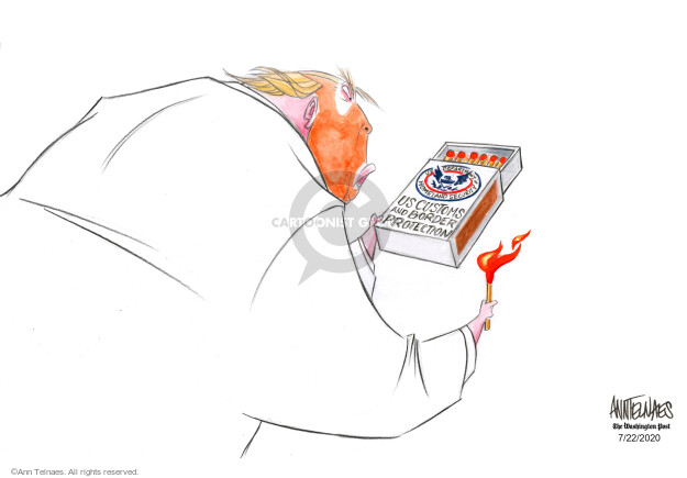 Ann Telnaes  Ann Telnaes' Editorial Cartoons 2020-07-22 presidential