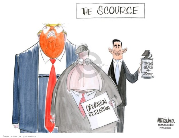 Ann Telnaes  Ann Telnaes' Editorial Cartoons 2020-07-23 Donald Trump Lawyers
