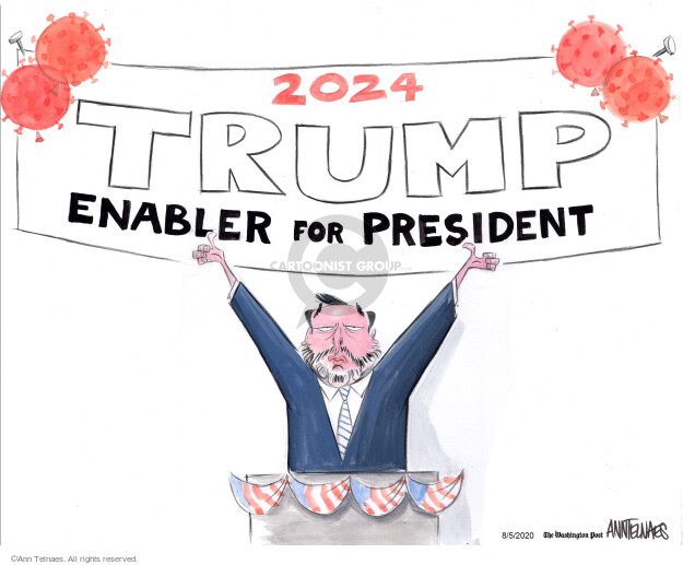 Ann Telnaes  Ann Telnaes' Editorial Cartoons 2020-08-05 presidential