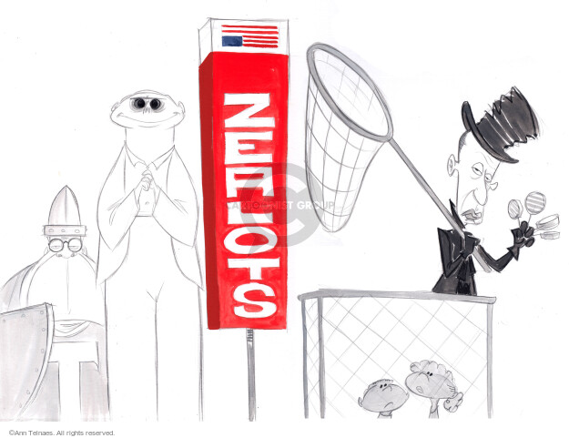Ann Telnaes  Ann Telnaes' Editorial Cartoons 2020-08-25 republican president