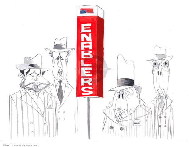 Ann Telnaes  Ann Telnaes' Editorial Cartoons 2020-08-25 senate majority leader