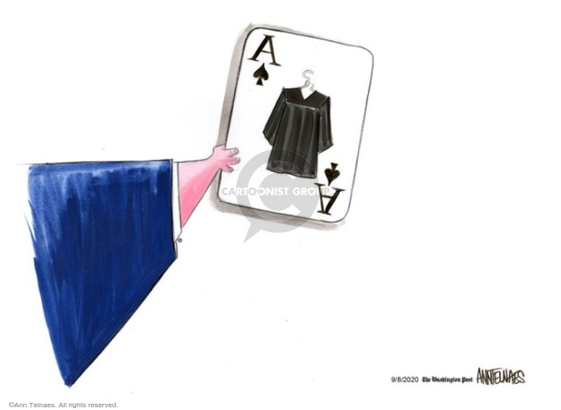 Ann Telnaes  Ann Telnaes' Editorial Cartoons 2020-09-08 supreme court justice