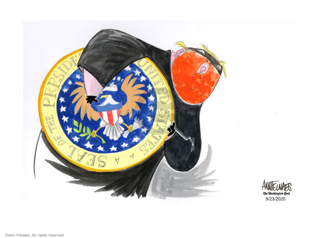 Ann Telnaes  Ann Telnaes' Editorial Cartoons 2020-09-23 United States