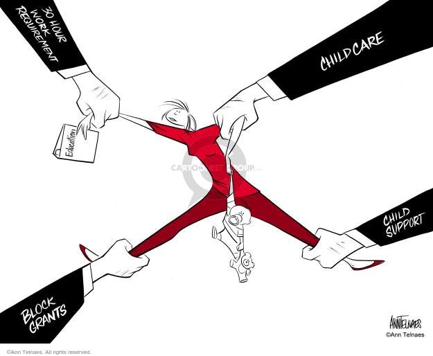 Ann Telnaes  Ann Telnaes' Editorial Cartoons 2004-06-28 support