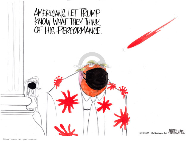 Ann Telnaes  Ann Telnaes' Editorial Cartoons 2020-09-25 know