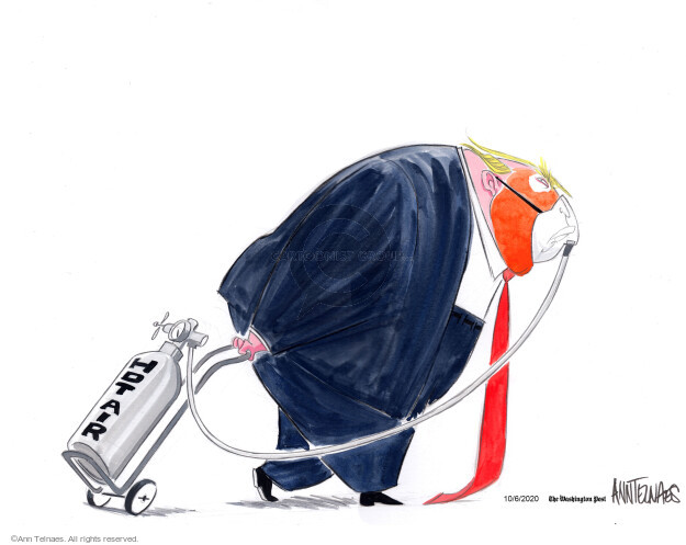 Ann Telnaes  Ann Telnaes' Editorial Cartoons 2020-10-06 pandemic