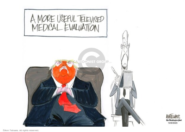 Ann Telnaes  Ann Telnaes' Editorial Cartoons 2020-10-09 disease