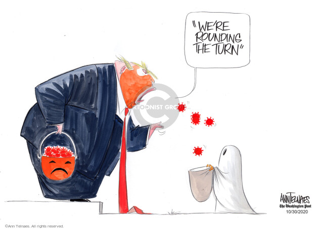 Ann Telnaes  Ann Telnaes' Editorial Cartoons 2020-10-30 pandemic