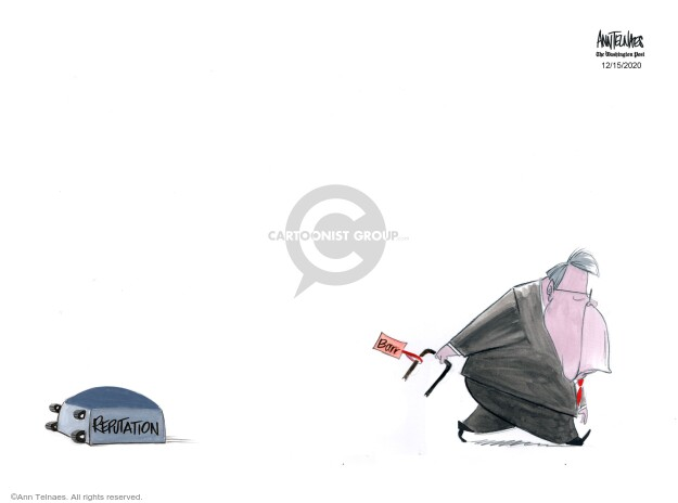 Ann Telnaes  Ann Telnaes' Editorial Cartoons 2020-12-15 William