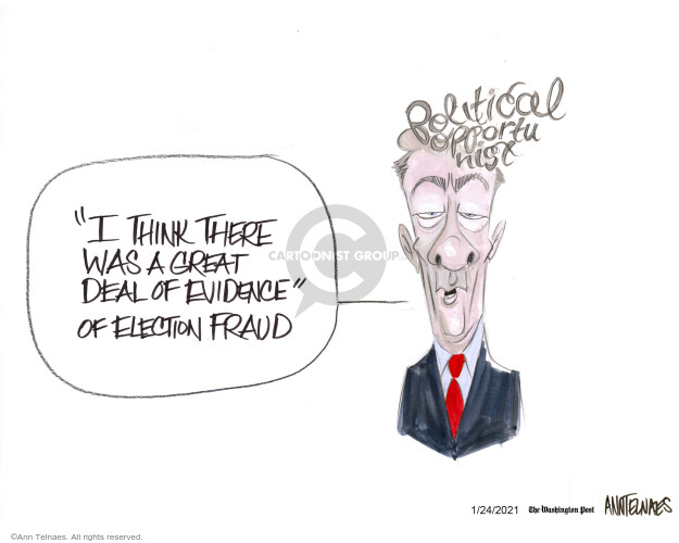 Ann Telnaes  Ann Telnaes' Editorial Cartoons 2021-01-24 conservative
