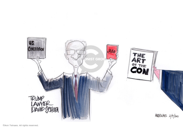 Ann Telnaes  Ann Telnaes' Editorial Cartoons 2021-02-09 democratic