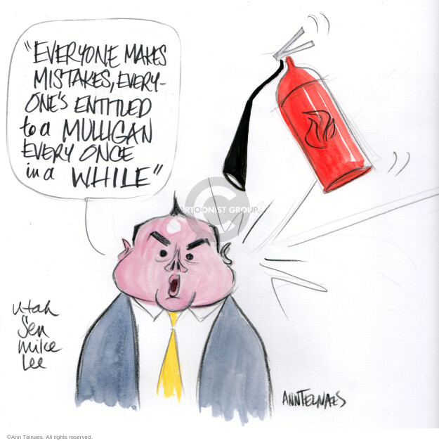 Ann Telnaes  Ann Telnaes' Editorial Cartoons 2021-02-09 republican senate
