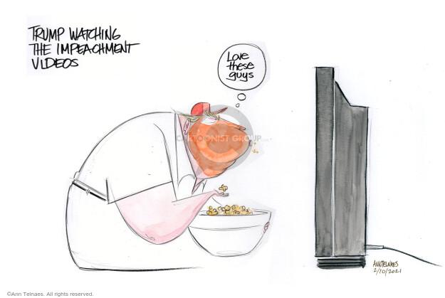 Ann Telnaes  Ann Telnaes' Editorial Cartoons 2021-02-10 former
