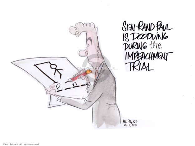 Ann Telnaes  Ann Telnaes' Editorial Cartoons 2021-02-10 republican senate