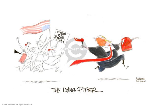 Ann Telnaes  Ann Telnaes' Editorial Cartoons 2021-02-10 impeach