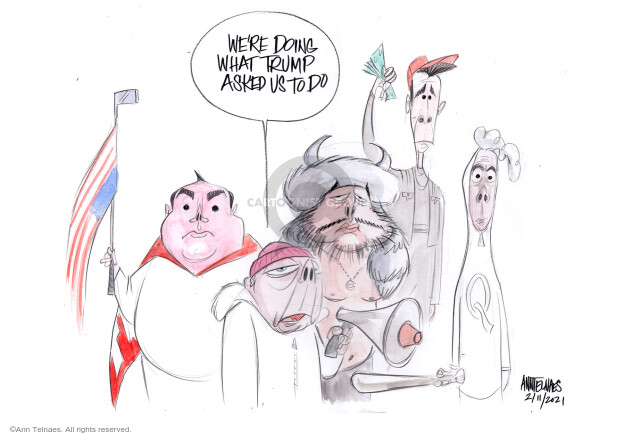 Ann Telnaes  Ann Telnaes' Editorial Cartoons 2021-02-11 republican senate