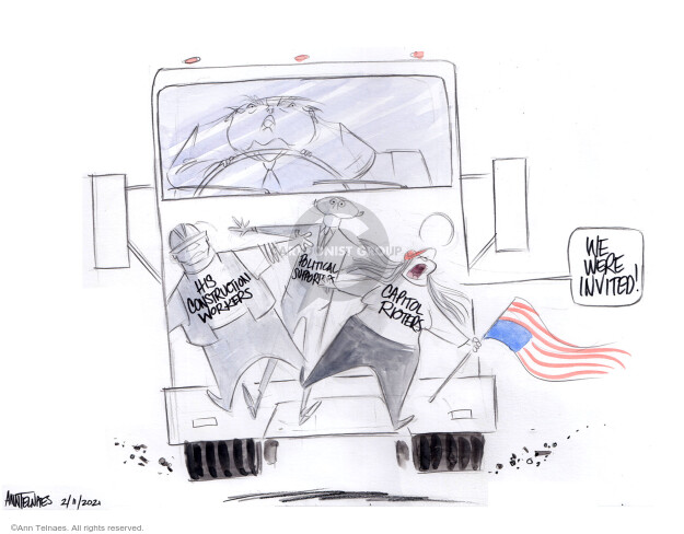 Ann Telnaes  Ann Telnaes' Editorial Cartoons 2021-02-11 his