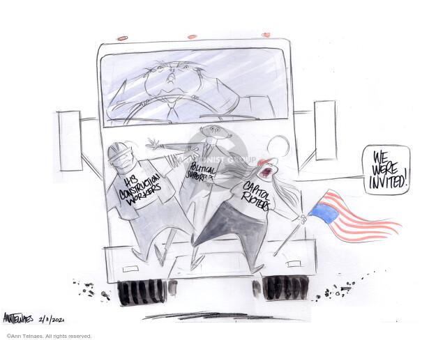 Ann Telnaes  Ann Telnaes' Editorial Cartoons 2021-02-11 former