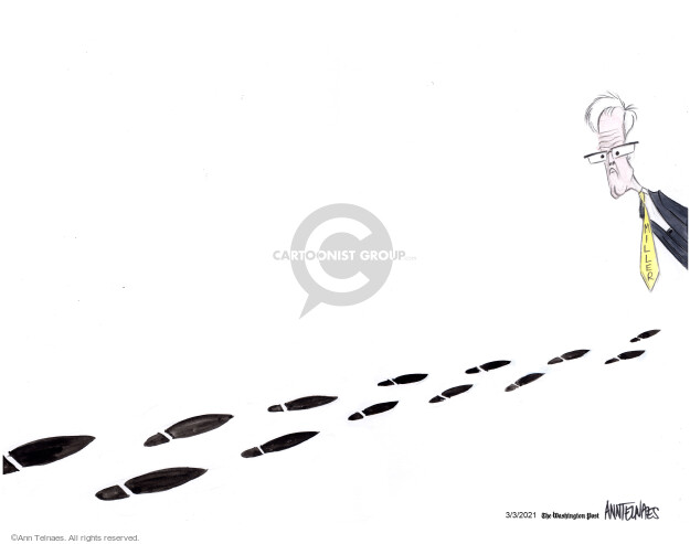 Ann Telnaes  Ann Telnaes' Editorial Cartoons 2021-03-03 violence