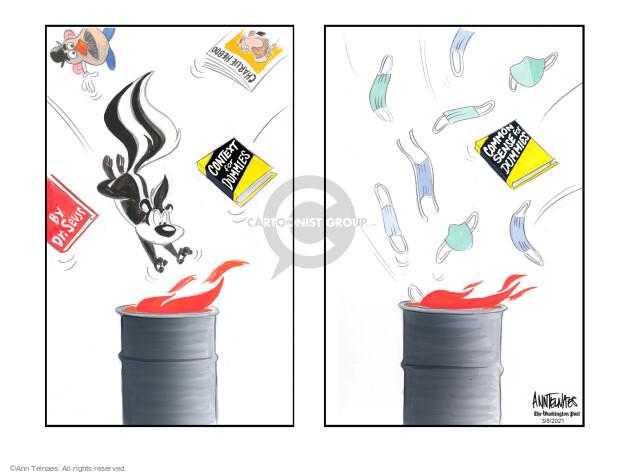 Ann Telnaes  Ann Telnaes' Editorial Cartoons 2021-03-08 virus