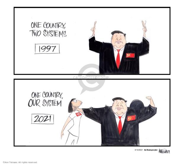 Ann Telnaes  Ann Telnaes' Editorial Cartoons 2021-03-14 system