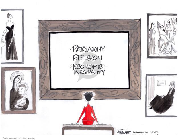 Ann Telnaes  Ann Telnaes' Editorial Cartoons 2021-03-22 editorial
