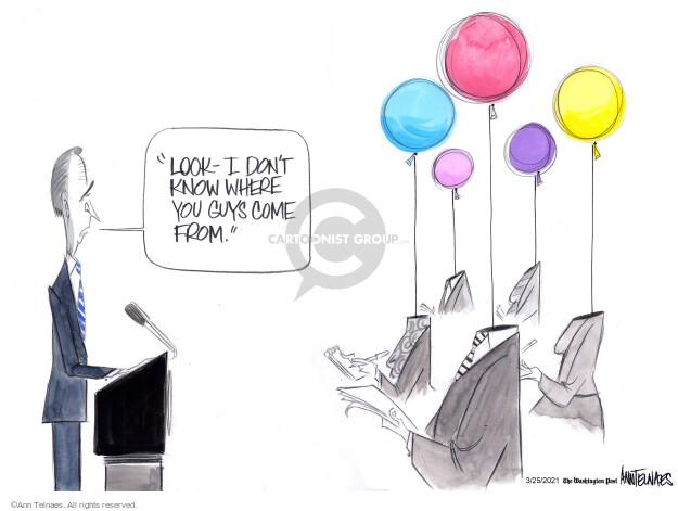 Ann Telnaes  Ann Telnaes' Editorial Cartoons 2021-03-25 president