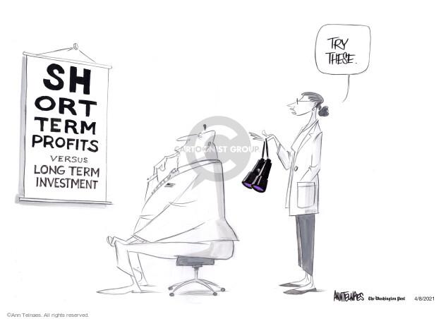Ann Telnaes  Ann Telnaes' Editorial Cartoons 2021-04-10 editorial