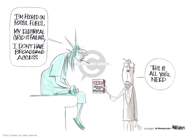 Ann Telnaes  Ann Telnaes' Editorial Cartoons 2021-04-14 republican senate