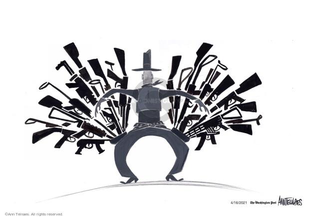 Ann Telnaes  Ann Telnaes' Editorial Cartoons 2021-04-16 gun rights