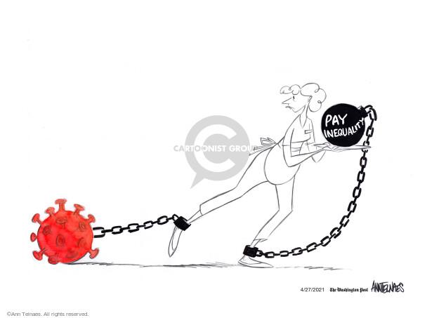 Ann Telnaes  Ann Telnaes' Editorial Cartoons 2021-04-27 virus